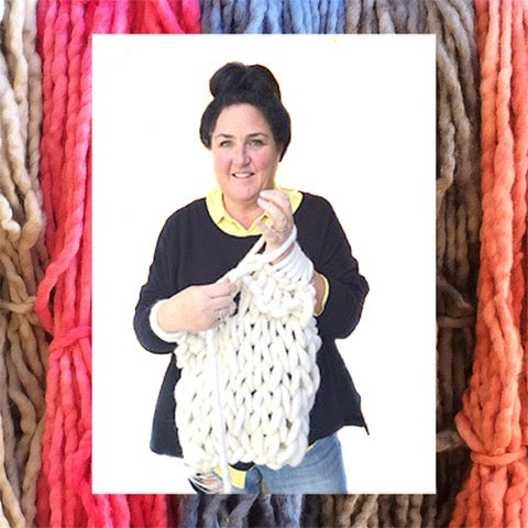 Image of Arm Knitting with Ceri Muter Thursday night May24th 6-9pm