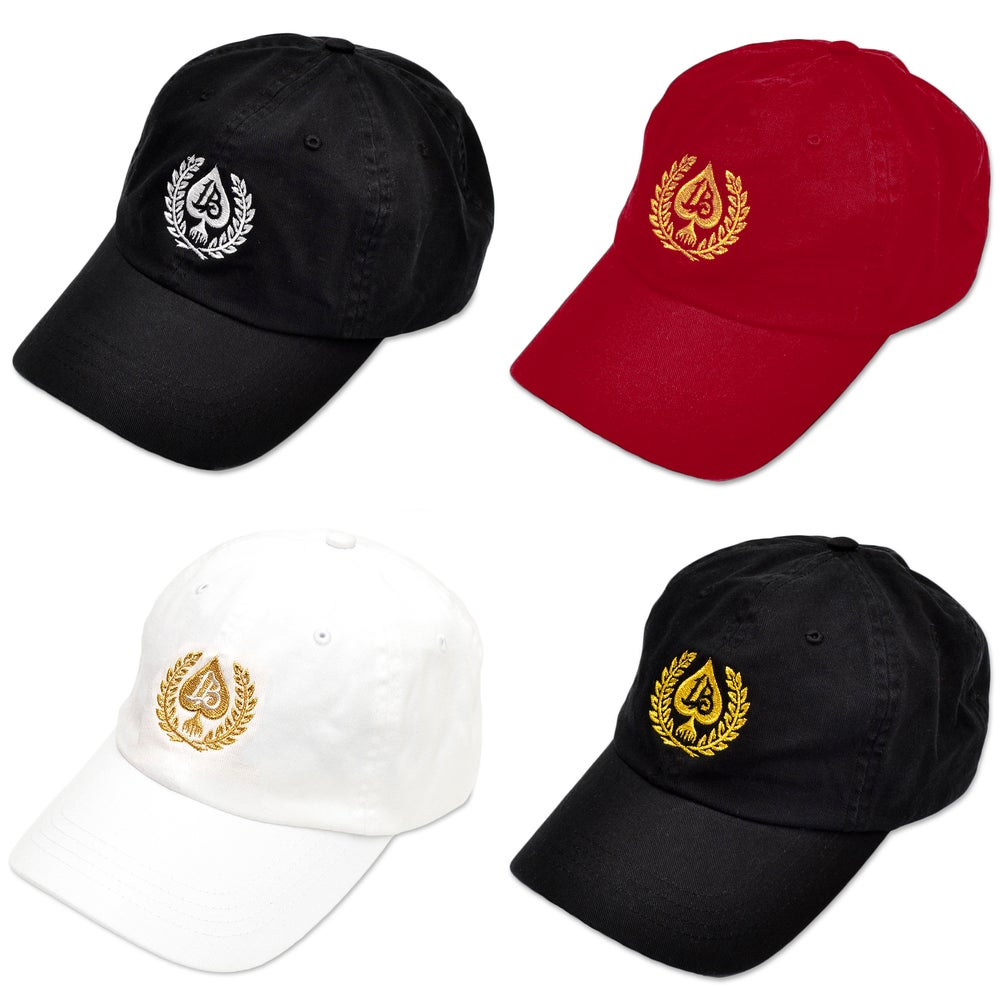 Image of SPADE WREATH DAD HATS