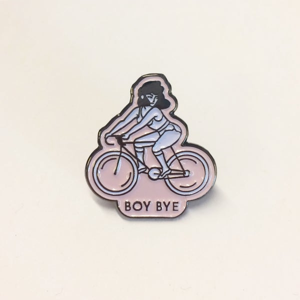 Image of Boy Bye Pin