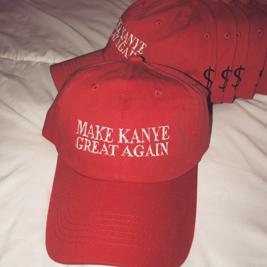 Image of Make Kanye Great Again Dad Hat