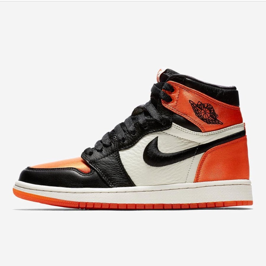 "Image of Air Jordan 1 Satin ""Shattered Backboard"""