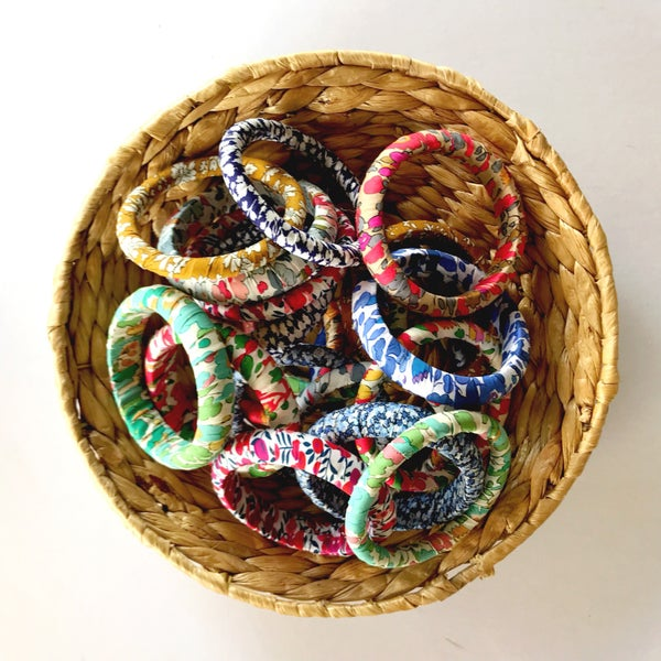 Image of Liberty wrapped bangles