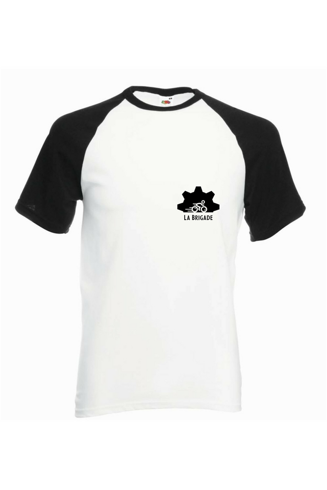 Image of Baseball T-ShirtBlanc/Noir