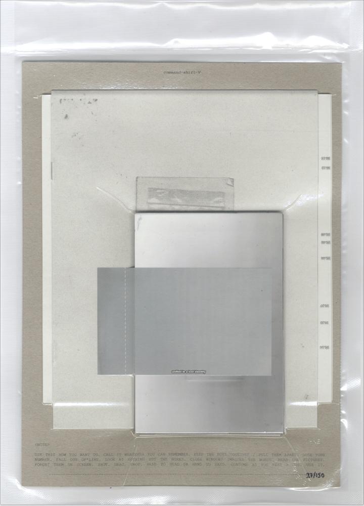 Image of COMMAND-SHIFT-V / 05052015