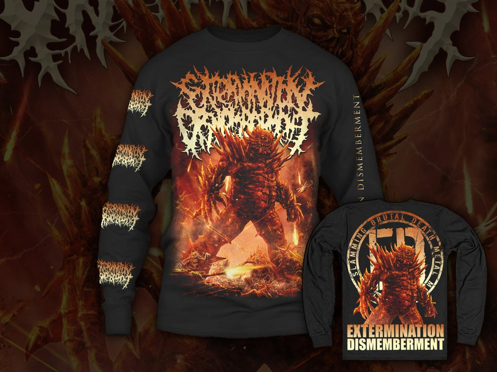 Image of EXTERMINATION DISMEMBERMENT - Monster  Longsleeve
