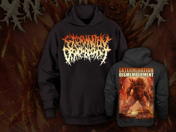 Image of EXTERMINATION DISMEMBERMENT - Monster  Hoodie