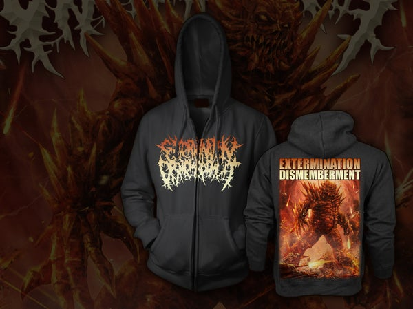 Image of EXTERMINATION DISMEMBERMENT - Monster  Zipper