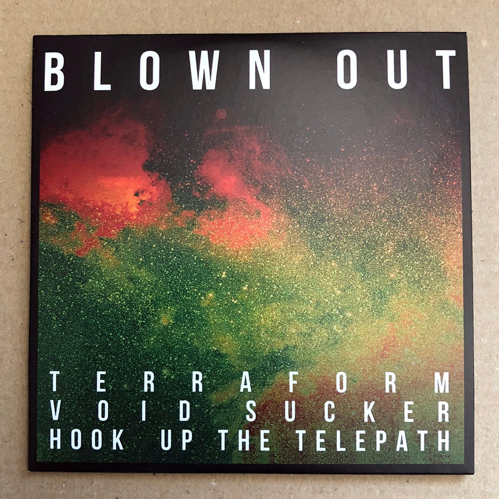 BLOWN OUT / COMACOZER 'In Search Of Highs Volume 1' Promo CD-R