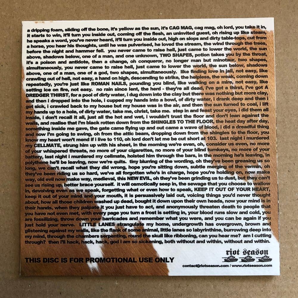 HENRY BLACKER 'The Making Of Junior Bonner' Promo CD-R