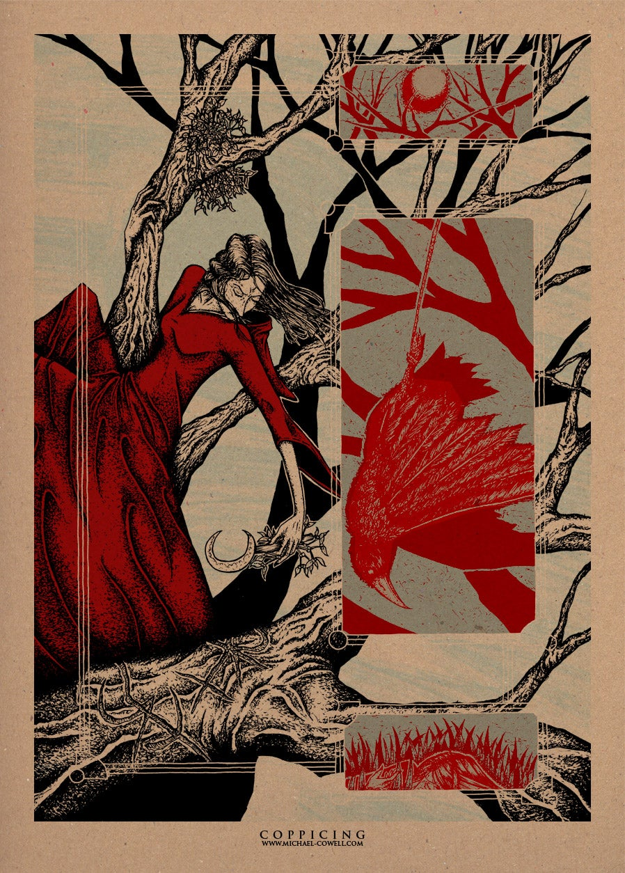 Image of Coppicing Art Print