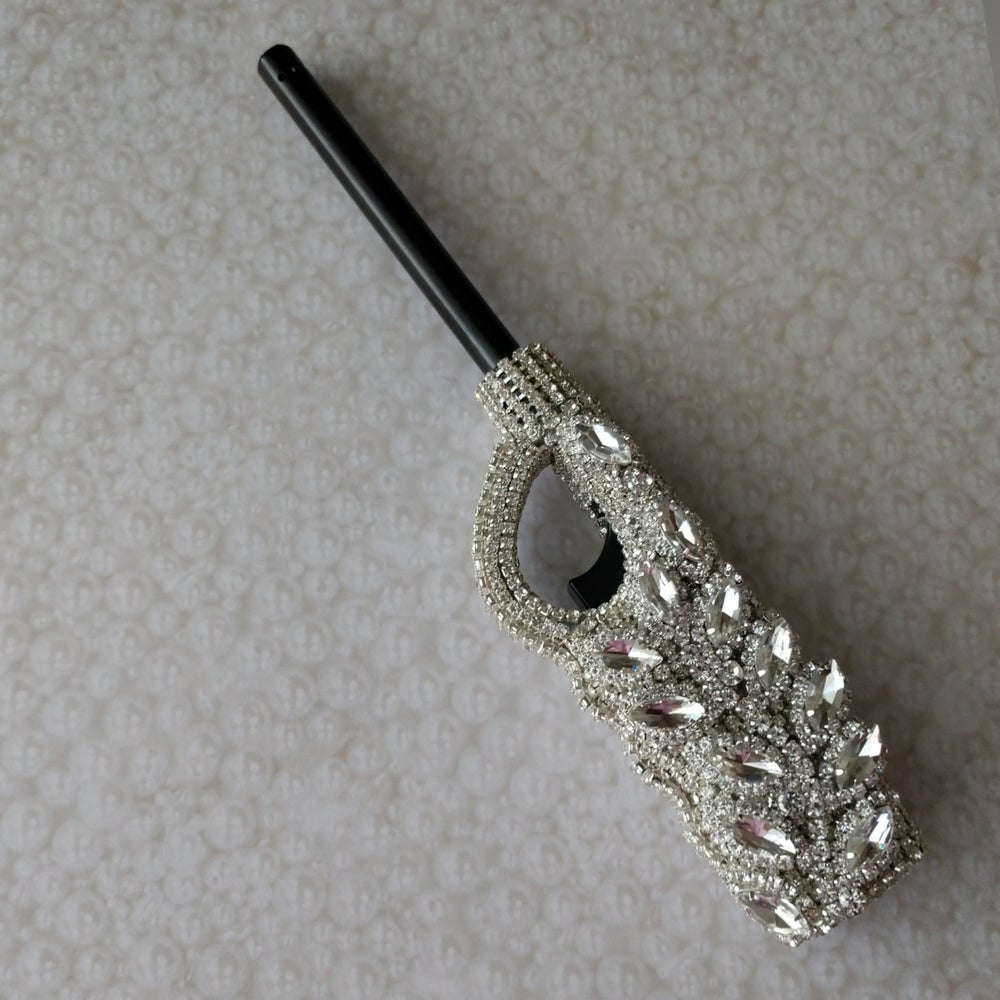 Image of Rhinestone Long Neck Lighter