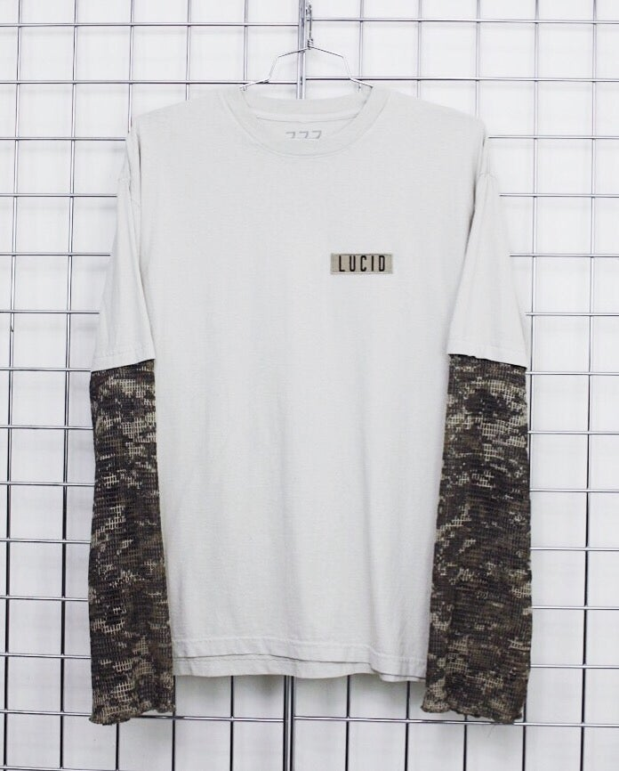 Image of TACTICAL TEE (CEMENT/DIGITAL CAMO)