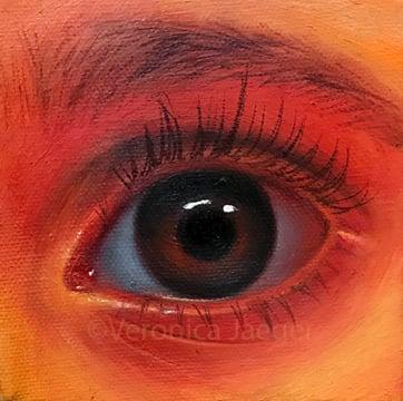 Image of Yellow-orange Eye