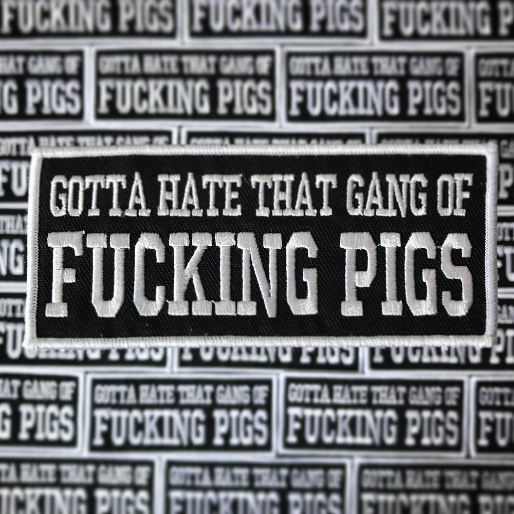 Image of Fucking Pigs Patch