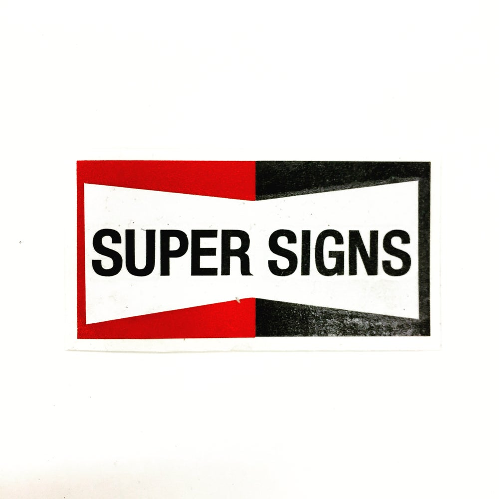 Image of Super Signs Champion