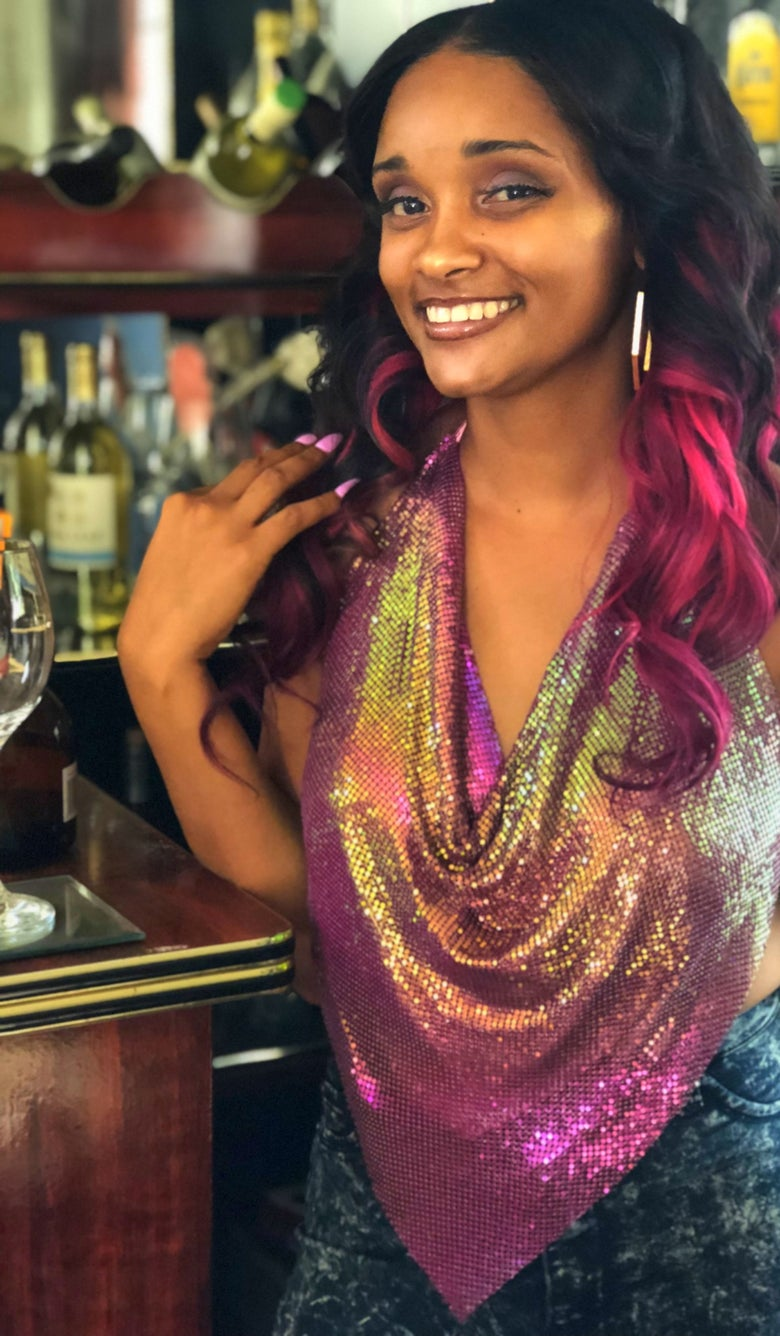 Image of SHIMMER TOP
