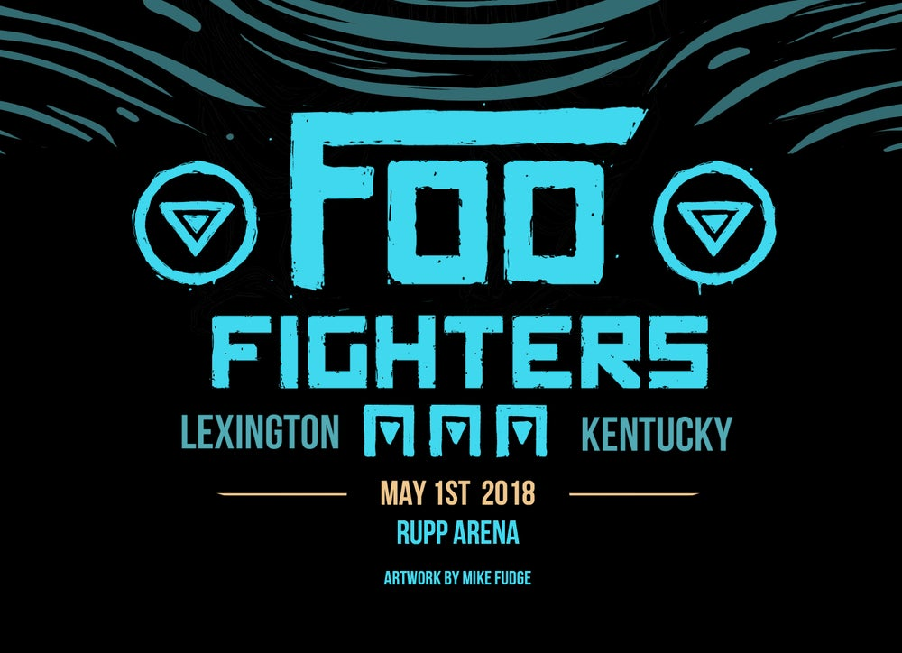Image of FOO FIGHTERS - LEXINGTON, KY