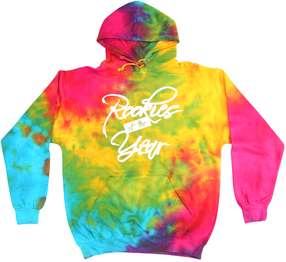 Image of Trippy Hippie Shoelace Hoodie