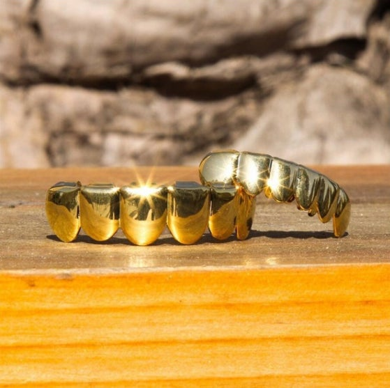 Image of 18k Gold Teeth Full Set