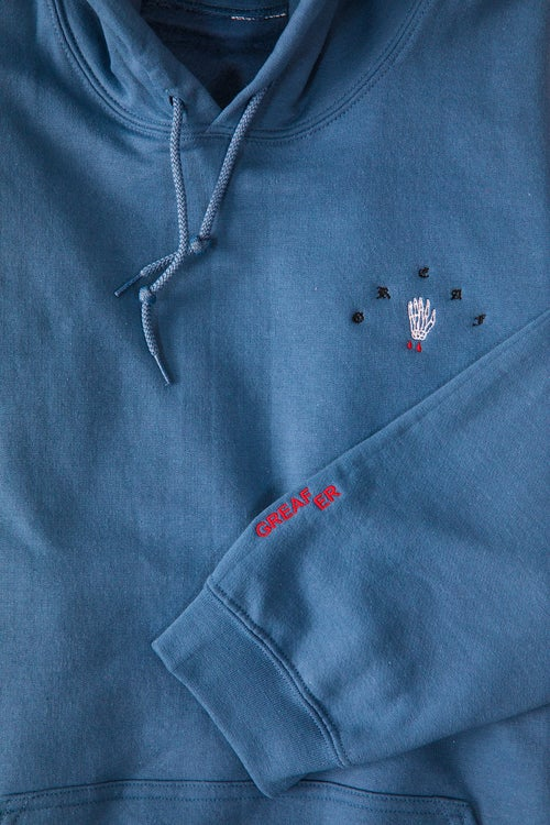 Image of Greafer embroidered hoodie