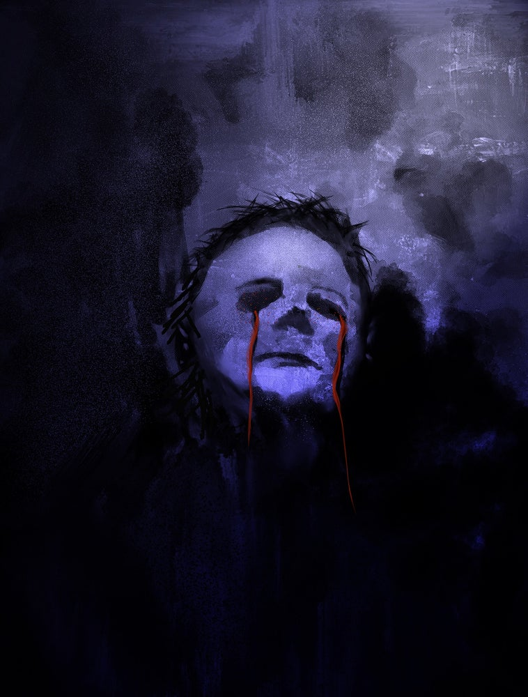 Image of michael myers joint art   spiritcage
