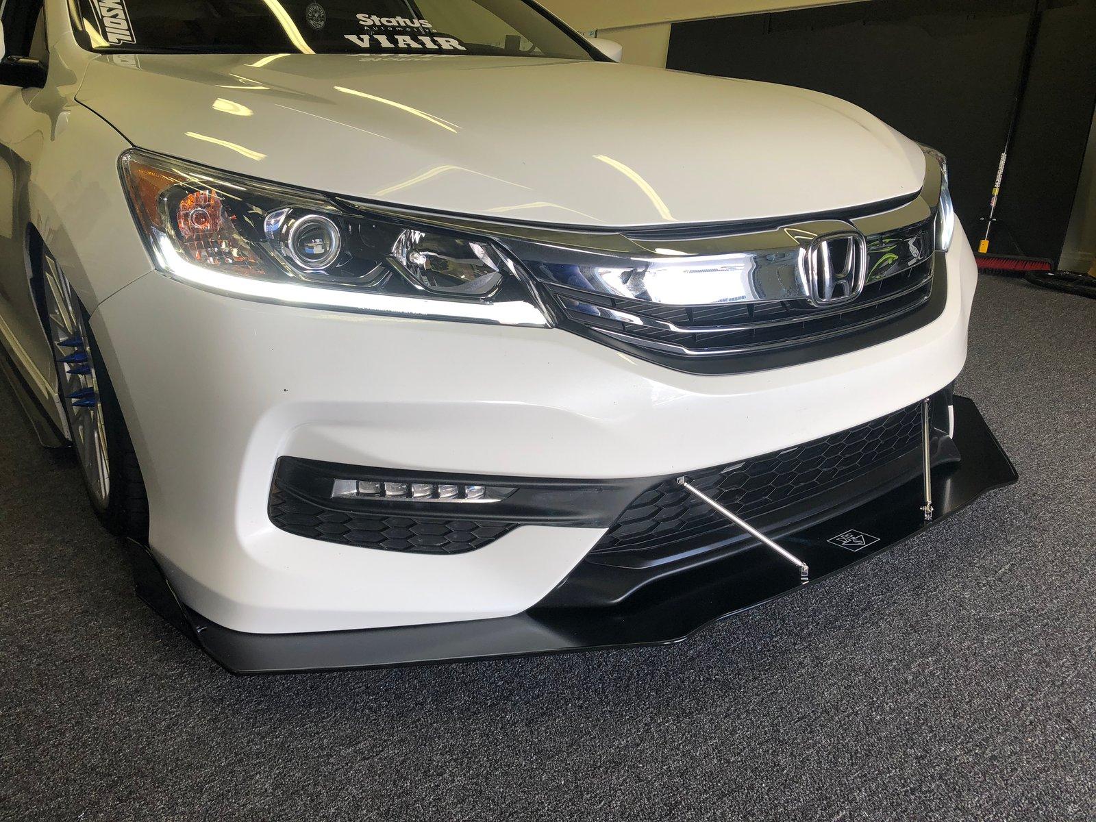 Downforcesolutions 9th Gen Honda Accord V2 Front Splitter