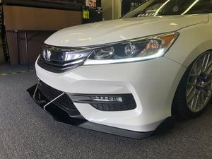 "Image of 9th Gen Honda Accord ""v2"" front splitter"