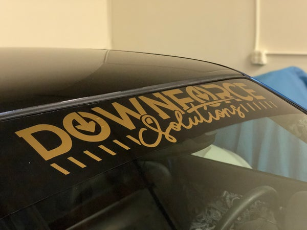 "Image of 32"" Downforce Solutions version 2 window banner"