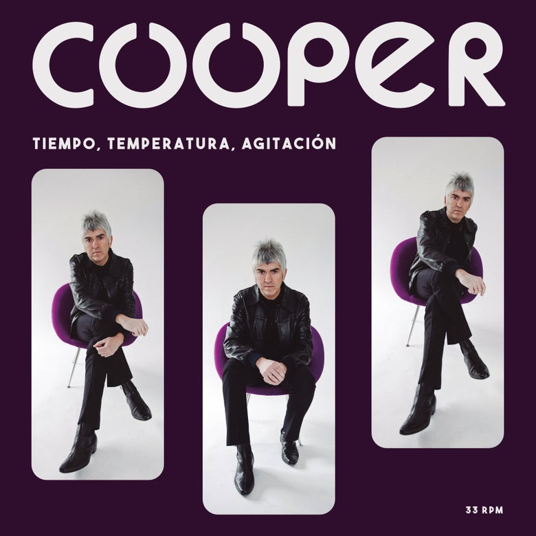 "Image of COOPER - Tiempo, Temperatura, Agitación (Purple 12"" Vinyl or CD Digipak)"