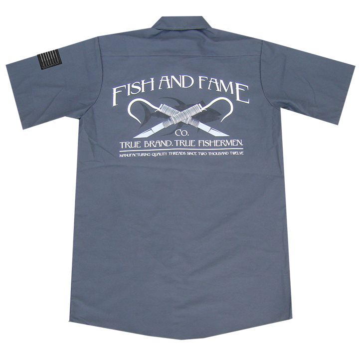 Image of Classic Crew Shirt (gun metal)