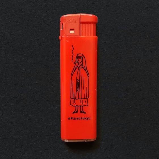 Image of The smoking nun