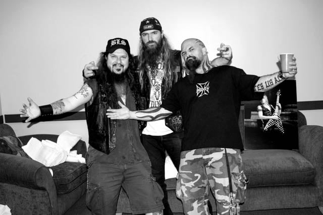 Image of Triple Threat Dimebag , Zakk Wylde, Kerry King Canvas Gallery Wrap