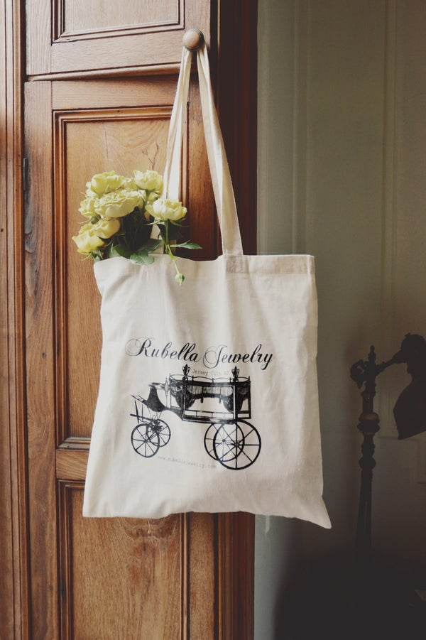 Image of Rubella Jewelry tote benefiting Every Mother Counts