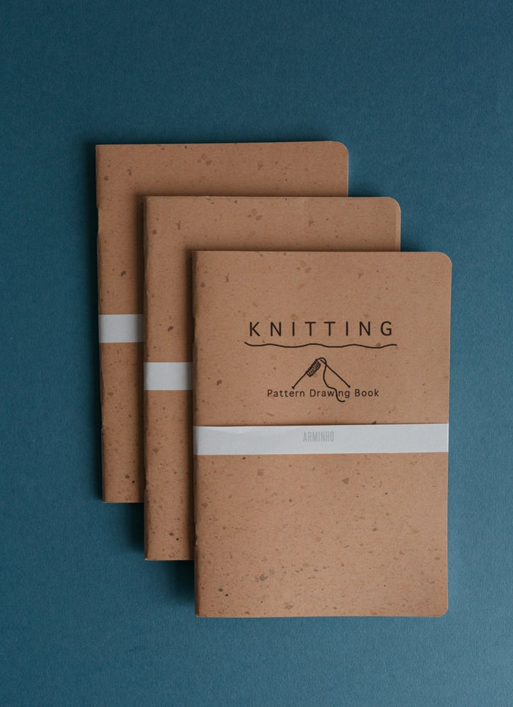 Image of Cuaderno Knitting Pattern Drawing Book de Arminho