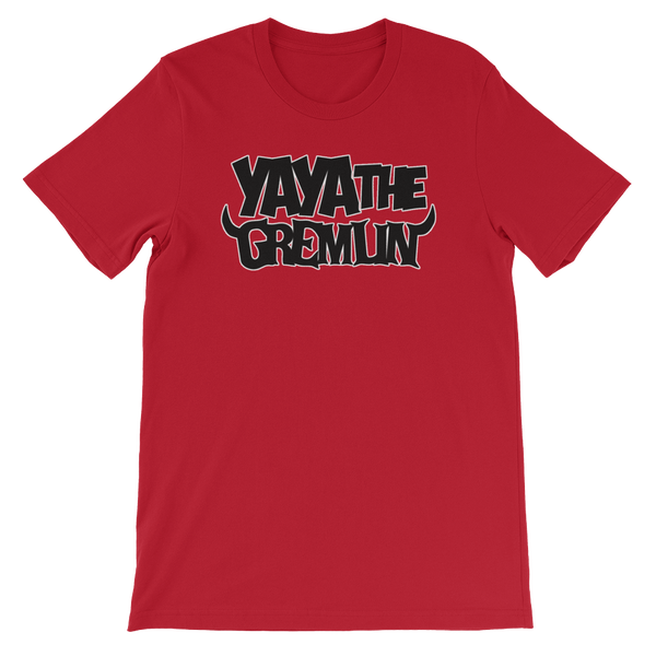 Image of YA YA THE GREMLIN - LOGO [RED/BLACK]