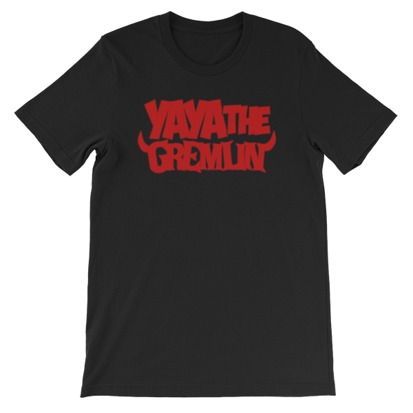 Image of YA YA THE GREMLIN - LOGO [BLACK/RED]