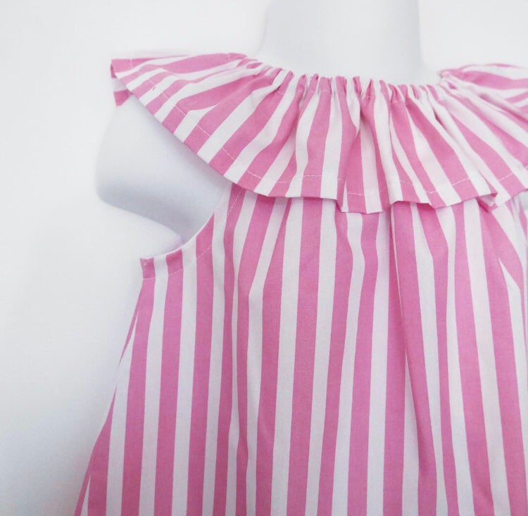 Image of Candy stripe romper / dress