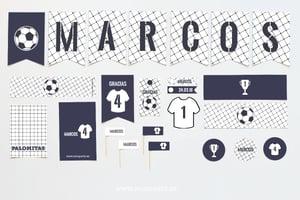Image of Pack imprimible futbol