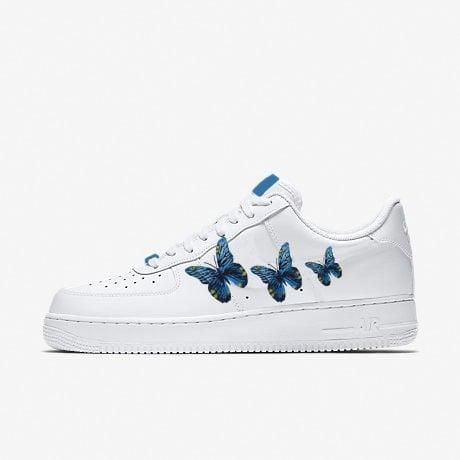 air force 1 farfalle