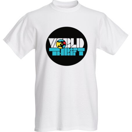 Image of World Thrift Promo T-shirt BIG Logo