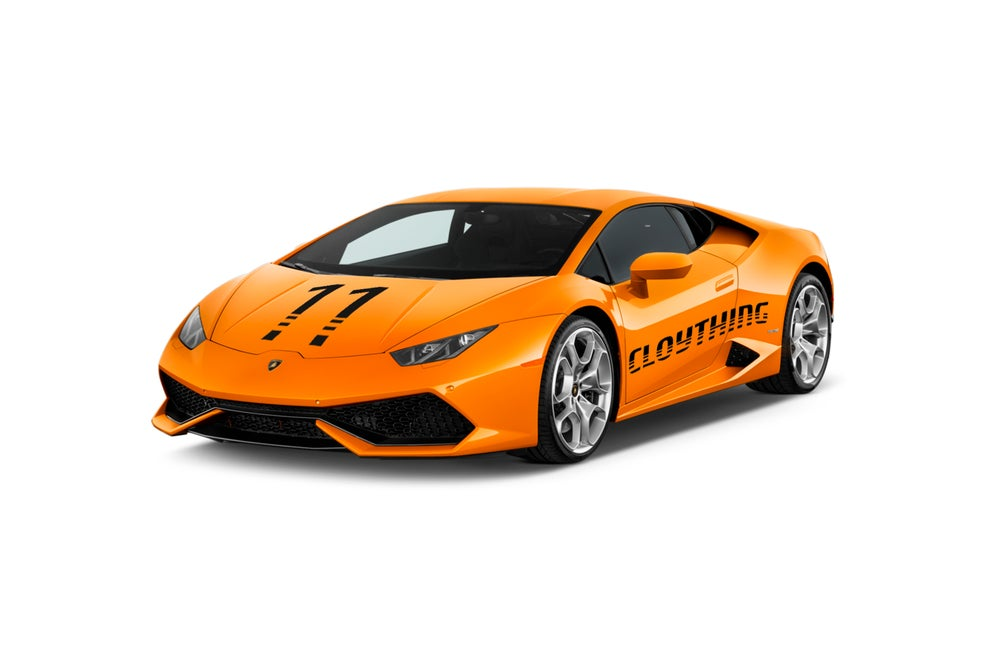 Image of Delivery Lamborghini Orange