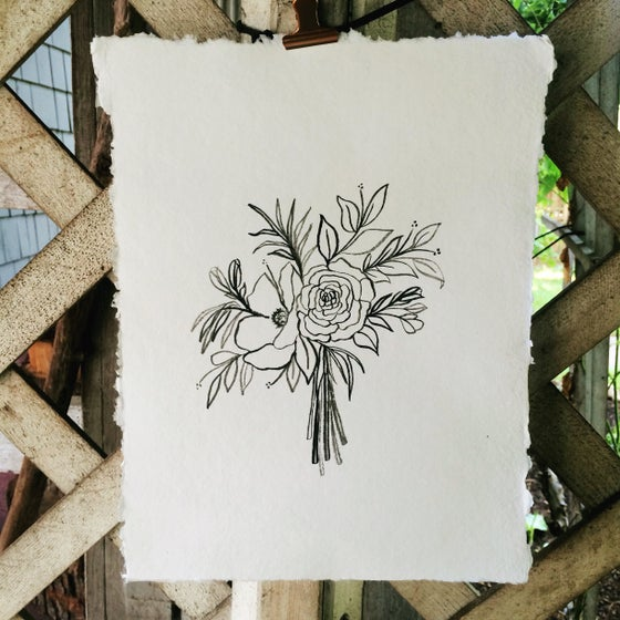 Image of Bouquet Print