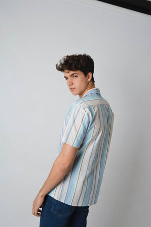 Image of VERTICAL STRIPE #2 SHIRT