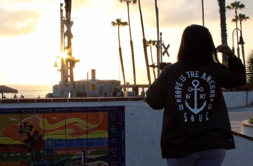 Image of Motav8d - Anchor Windbreaker