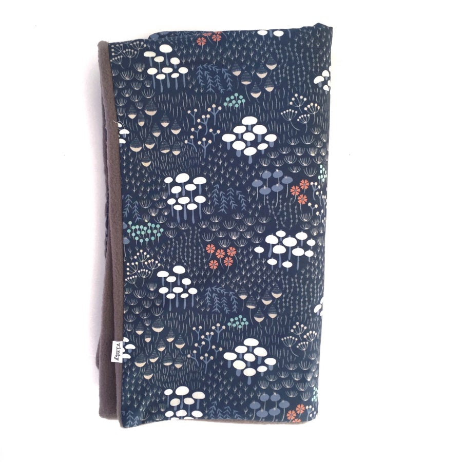 Image of LAST ONE: Stroller Blanket: Woodland Love