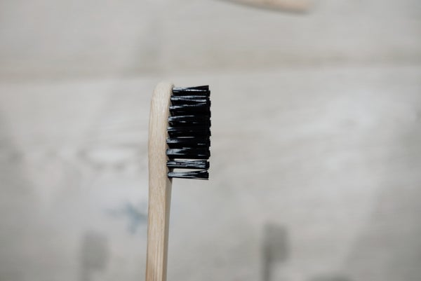Image of Bamboo toothbrush - adult
