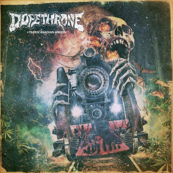 Image of DOPETHRONE - Transcanadian Anger / CD