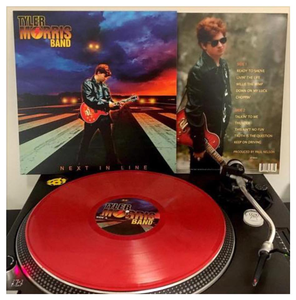 Image of Tyler Morris Limited Edition Red Vinyl - Next In Line