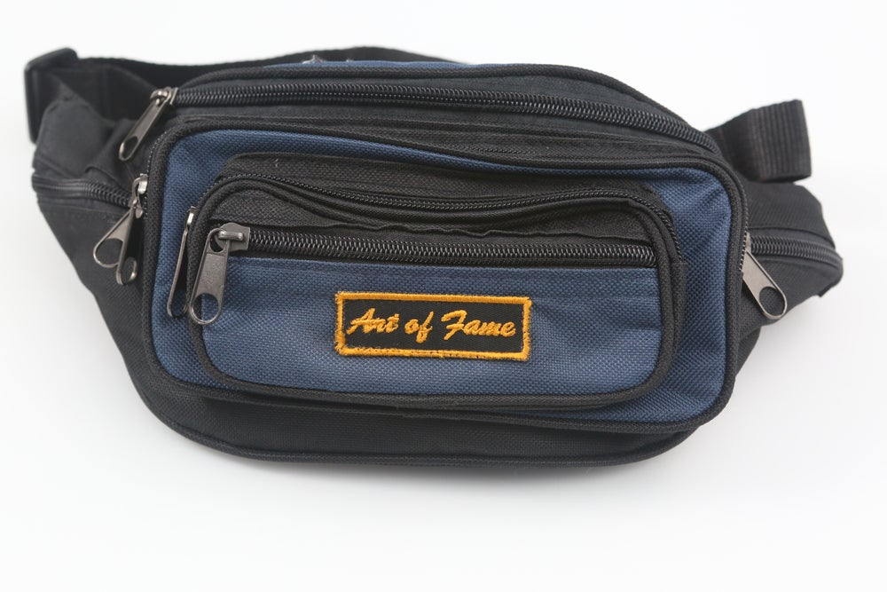 Image of ACDC Blue & Black Fanny Pack
