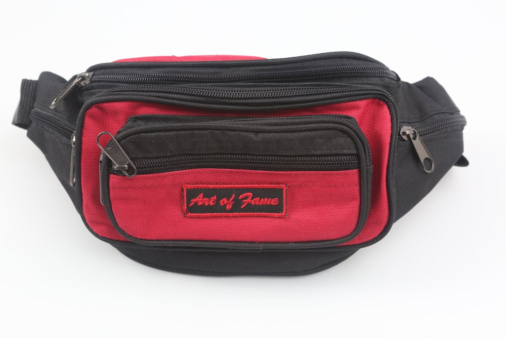 Image of Iron Maiden Red & Black Fanny Pack